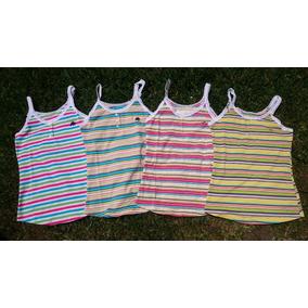 4 Blusas Camiseta Hollister, Abercrombie, Aeropostale Y Ae