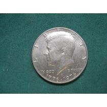 Moneda Half Dollar 1976d, Estados Unidos, Km# 205