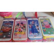 Celularar Infantil 3d Frozen, Peppa,carros, Minnie Mickey
