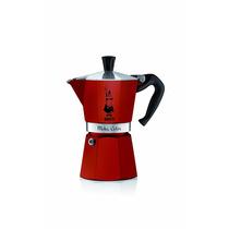 Bialetti 06909 Cafetera Para Café Expreso, 6 Tazas, Rojo