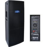 Caixa Ativa Dupla 2x15 700 Watts Rms Sound Box Thunder 15d