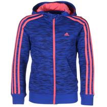 Sudadera Deportiva Essentials 3 Franjas Niña Adidas Ab4870