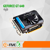 Tarjeta De Video 4gb Nvidia Geforce Gt 640 Pci Express Ddr3