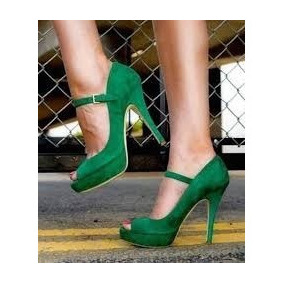 Sandalias Celeste Color Rojo Y Verde Talla 40