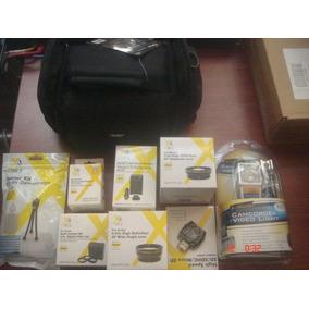 Kit Accesoriosp/camara Sony Handycam Hdr Pj790v O Digitales