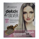 Kit All Nature Shampoo Detox + Shampoo E Máscara Silver