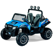 Carro Electrico Peg Perego Polaris Ranger Rzr 900 Azul
