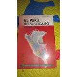 Libro El Perú Republicano - U.lima