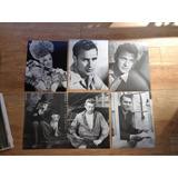 Lote - Fotos De Artistas Famosos E Antigos