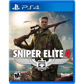 Sniper Elite 4 Ps4 Mídia Física Edição De Lançamento + Dlc