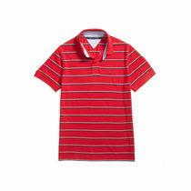 Camisa Polo Tommy Hilfiger Piquet Masculina Original