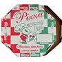 25 Embalagens Caixa P/ Pizza Oitavada 30cm Papelão Estampado