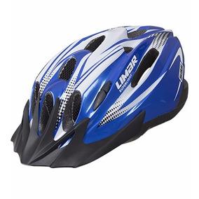 Casco Limar 535 Azul Con Negro Ideal Ciclismo