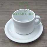 Germer Juego Taza Desayuno + Plato X6 Unidades - Bazar Chef