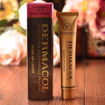 Base Dermacol Cover Make Up + Brinde Esponja De Silicone