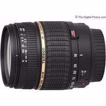Lente Zoom Canon 18-200mm F/3.5-6.3 Di Ii Xr Tamron - Nova