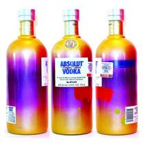 Absolut Vodka Unique Vacia De Coleccion Wallpaper 3 Peppar