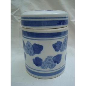 Bombonera O Frasco De Porcelana