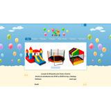 Site Para Locação De Brinquedos, Buffet, Infantil, Festas