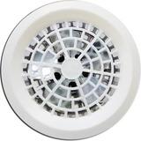 Exaustor 25cm Branco Luxo - Banheiro - Cozinha - Residência