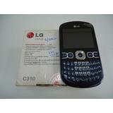 Celular Lg C310 Dois Chips¿ - Preto E Azul (110)
