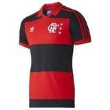 Camiseta Polo Flamengo Retro 2014 adidas Anos 80