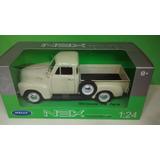 Chevrolet 3100 Pick Up 1953 - Sapo Blanca - Welly 1/24