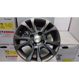 Roda Aro 14 Gm Chevrolet Onix/ Prisma R42 Grafite Fosca