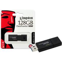 Pen Drive Usb 3.0 Kingston Dt100g3/128gb Datatraveler 100 G3