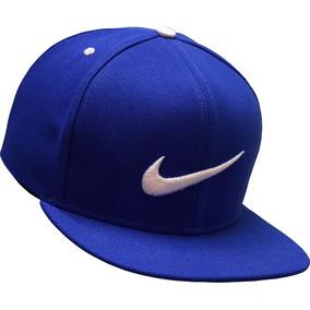 Bone Nike Azul Aba Reta Snapback Importado