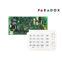 Kit Central De Alarme Paradox Sp4000 Com Teclado K10
