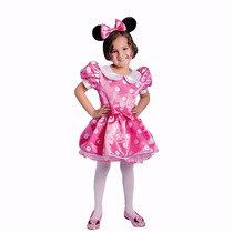 Disfraz Disfraces Minnie Mouse Vestido Y Cintillo