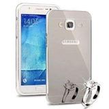Funda Samsung Galaxy J7 Espejo Bumper Lujo ¡oferta!