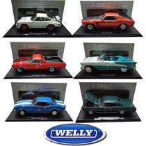 Autitos Replica Colección Varios Welly 1.18 Metal- Din Don