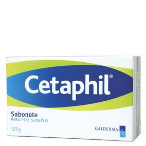 Cetaphil Sabonete Pele Sensivel - Sabonete Em Barra 127g