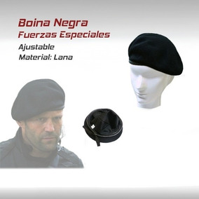 Boina Gorra Fuerzas Especiales Militar Paintball Gotcha M16