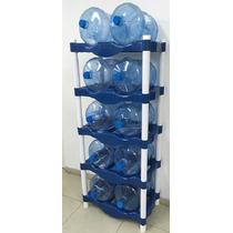 Racks De Plástico Para 10 Garrafones (nuevos)