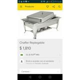 Chaffer Buffetware Replegable
