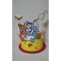 Centro De Mesa Tom Y Jerry En Goma Eva