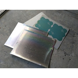 Plancha Chapa De Aluminio 0,3mm Usado De Imprenta