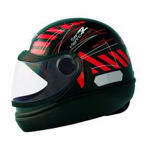Capacete Moto Taurus San Marino Novo Viseira 2mm Automatico