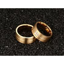 Lindo Par De Aliança Anel De Noivado Compromisso Casamento