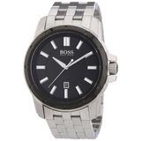 Hugo Boss Negro Unisex Reloj De Acero Inoxidable 1512924