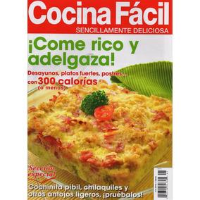 Cocina Facil Revista | Revista Cocina Facil En Mercado Libre Mexico