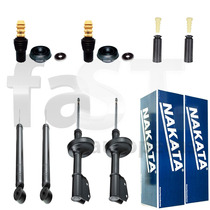 4 Amortecedores Nakata + Kits Renault Clio 1.0 2000/2013
