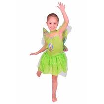 Disfraz Niña Princesa Hada Campanita Disney Talle 0