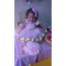 Set Bebe Conjunto Tutu Franela De Minnie Gold, Peppa, Kitty