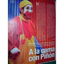Payaso Piñon Fijo Pagina Web Porno Circo Clipping 1 Pg.