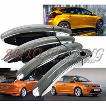 Kit 4 Cubre Manijas Cromadas Ford Focus 2 Y Focus 3