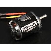 Combo Motor Ntm 3548 1100kv + Esc + Kit P/ 2,5kg Fúria Hobby